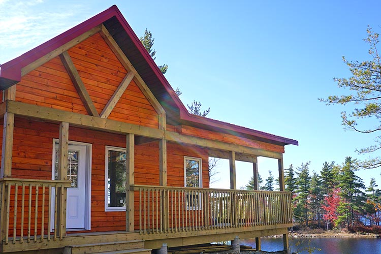 dean lake chalet erleben sie kanada direkt am see. Black Bedroom Furniture Sets. Home Design Ideas